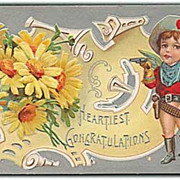 """""""Heartiest Congratulations""""  (1910')"""