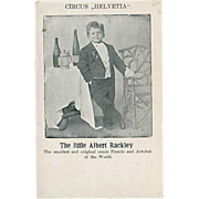 """The little Albert Rackley""  (1910')"
