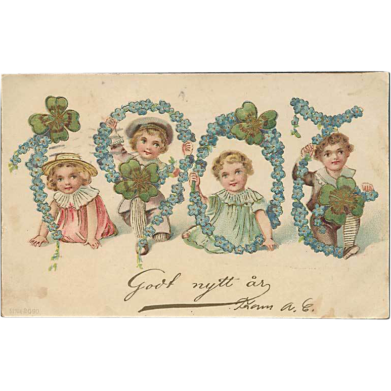 """Happy New Year""  (1907)"