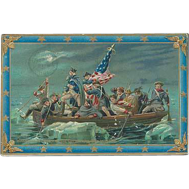 """Washington Crossing the Delaware""  (1911)"