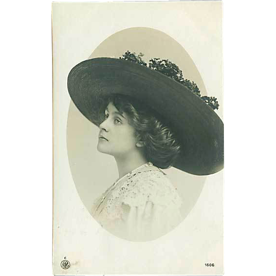 """Woman in Hat""  (1911)"