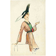 """""""Art Nouveau""""  (1917)"""