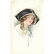 """""""Portrait of young Woman""""  (1921)"""