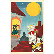 """""""Cat Concert""""  (1950')"""