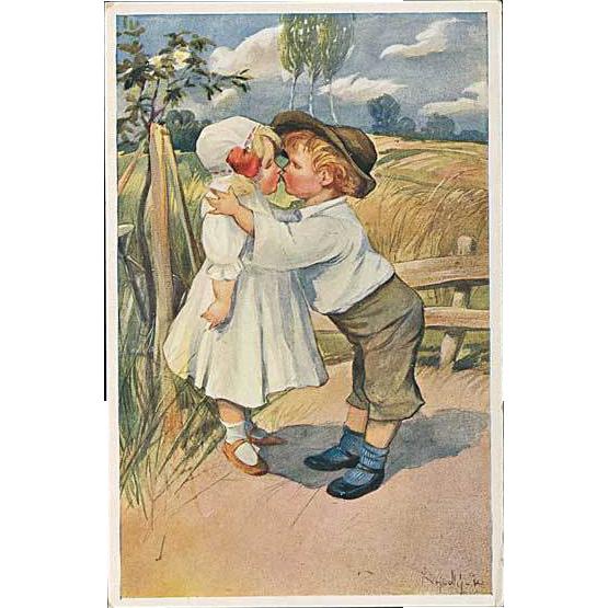 """""""First Kiss""""  (1950')"""