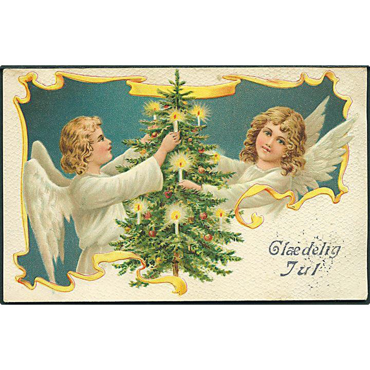 """Angels with Christmas Tree""  (1915)"