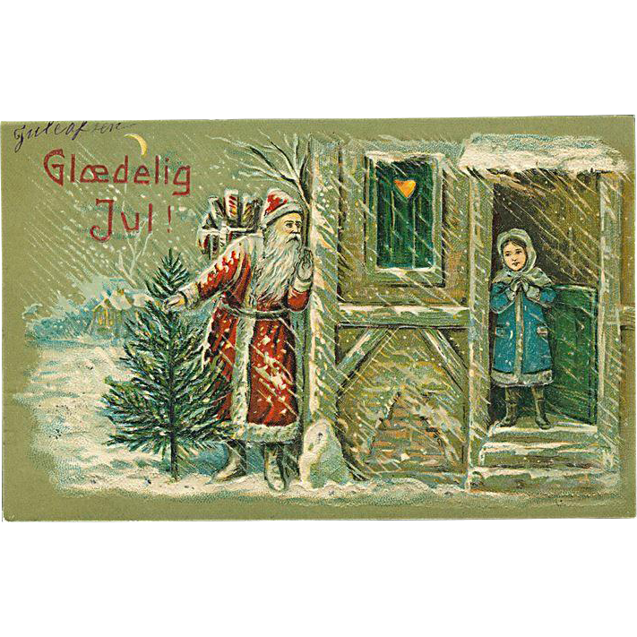 """Arrival of Santa Claus""  (1905)"