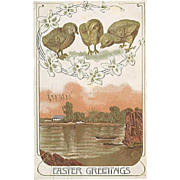 """Easter Greetings""  (1910)"