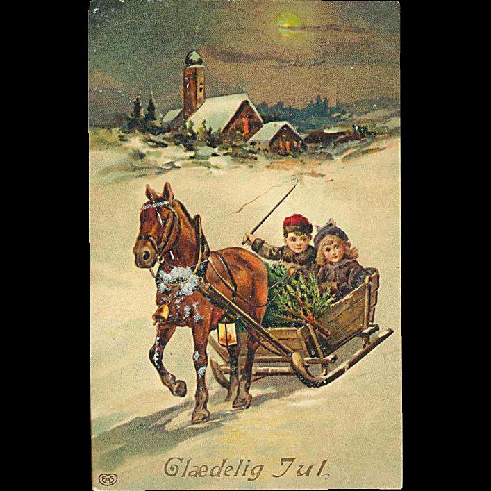 """""""Sleigh Ride""""  (1912)"""