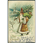 """Father Christmas in Brown""  (1906)"