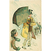"""Snowball Attack""  (1909)"