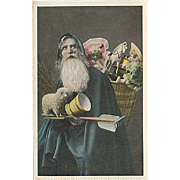 """""""Father Christmas in Blue"""" (1911)"""