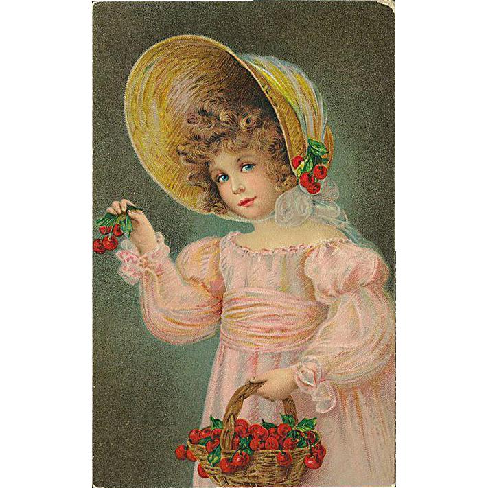 """Girl with Basket"" (1914)"
