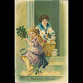 """Happy New year (1910')"