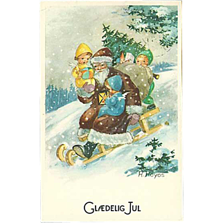 """Santa Claus on Sledge""  (1964)"
