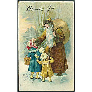 """Father Christmas in Brown""  (1917)"