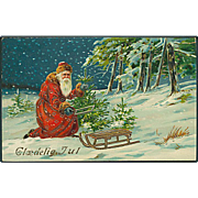 """Santa Claus in the Woods""  (1910')"