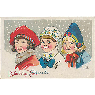 """Scandinavian Children  (1950')"