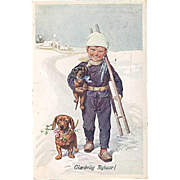 """Little Chimney Sweeper""  (1910)"
