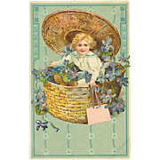 """Child in Basket""  (1910)"