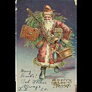 """Santa Claus in a Hurry""  (1906)"