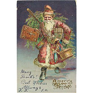 """Santa Claus in a Hurry""  (1906)"