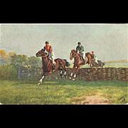 """""""Steeplechasing"""" (1922)"""
