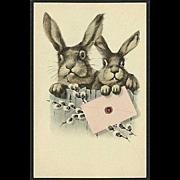 """""""Easter Bunnies""""  (1940')"""