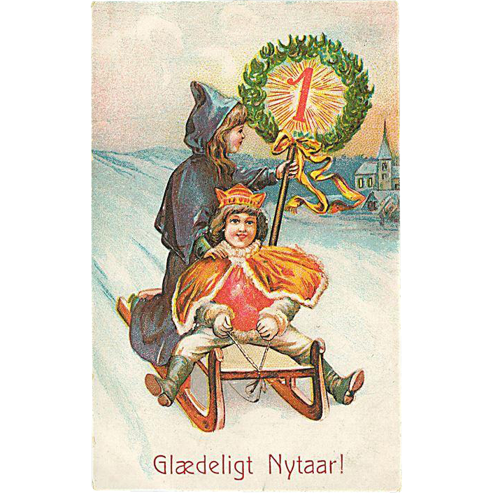 """Happy New Year"" (1909)"