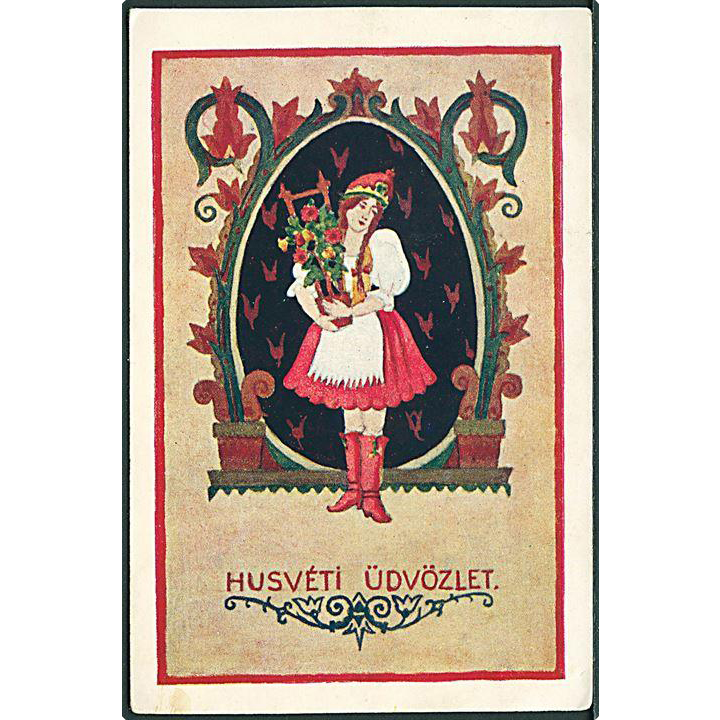 """Hungarian Easter Card""  (1941)"