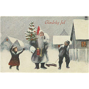 """""""Father Christmas in Grey""""  (1921)"""