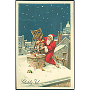 """Santa Claus down the Chimney""  (1954)"