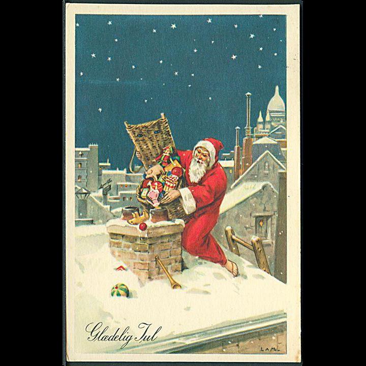 """Santa Claus down the Chimney""  (1954)"