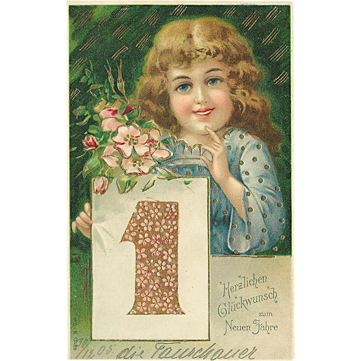 """Happy New Year "" (1905)"