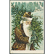 """""""Father Christmas in Brown""""  (1908)"""
