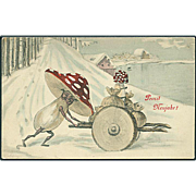 """Toadstools on Wheels""  (1909)"