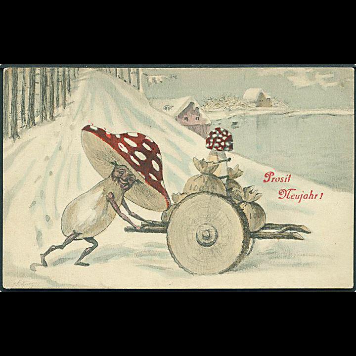 """""""Toadstools on Wheels""""  (1909)"""