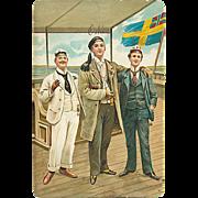 """""""Scandinavian Students""""  (1913)"""