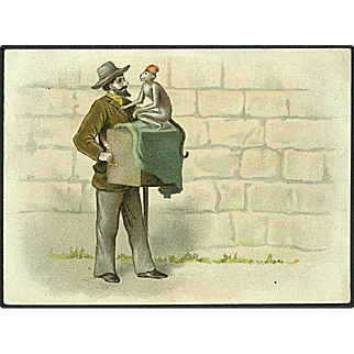 """""""Organ Grinder""""  (1910')"""
