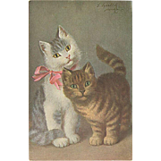 """Two cute Kittens""  (1934)"