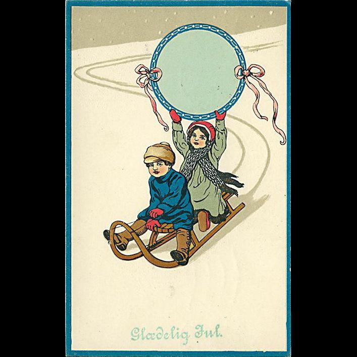 """Sledge Ride""  (1914)"