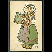 """""""Girl from Blekinge""""  (1916)"""