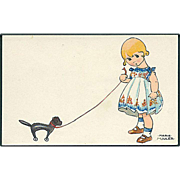 """Girl with Toy Dog""  (1920)"