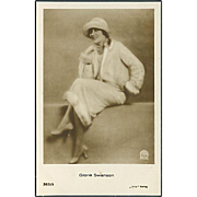 """Gloria Swanson""  (1920')"