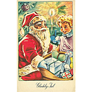 """Santa makes the boy happy""  (1957)"
