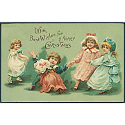 """Playful little Girls""  (1910')"