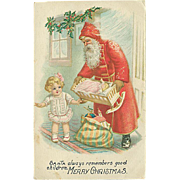 """Santa always remember good Children""  (1917)"