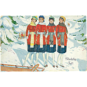 """Winter Fashion""  (1927)"