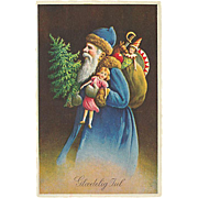 """""""Father Christmas in Blue""""  (1938)"""