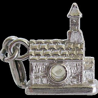 Monet Stanhope Church Lords Prayer Charm Figural Vintage